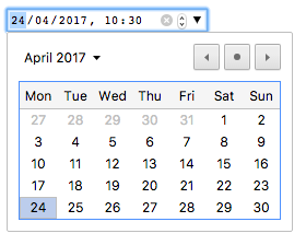 Date time formatter in javascript