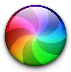 Multi-colored macOS beachball busy spinner